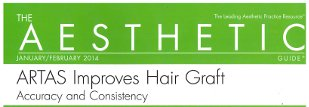 The Aesthetic Guide - ARTAS Improves Hair Graft Accuracy and Consistency