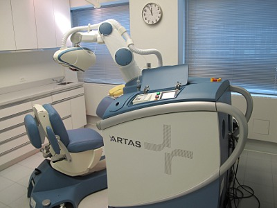 Operating Room with ARTAS Robot